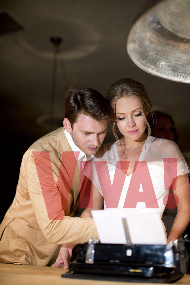 Алена Шоптенко и Дмитрий Дикусар свадьба фото журнал вива