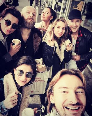 Loboda и ее продюсер закатили шумную вечеринку в Амстердаме