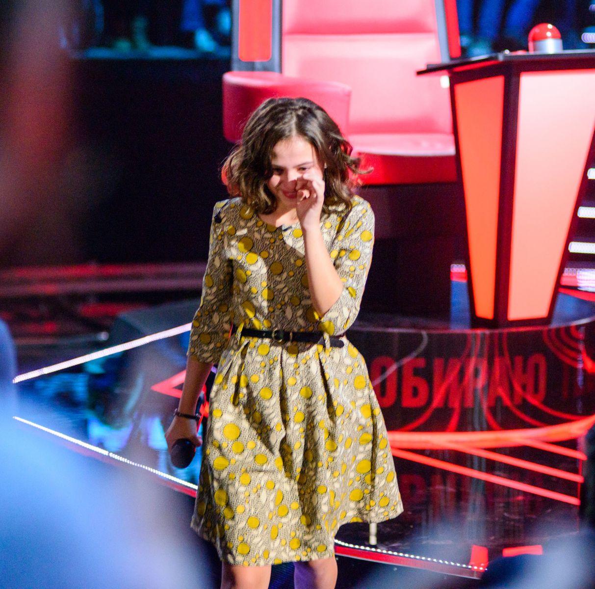 Голос. Дети-2: зрители требуют вернуть грузинку, которая поет на украинском Чорнобривці