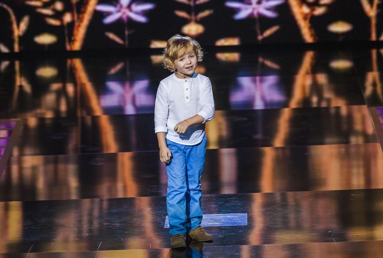 Юрий Горбунов нашел своего двойника на шоу Маленькі гіганти