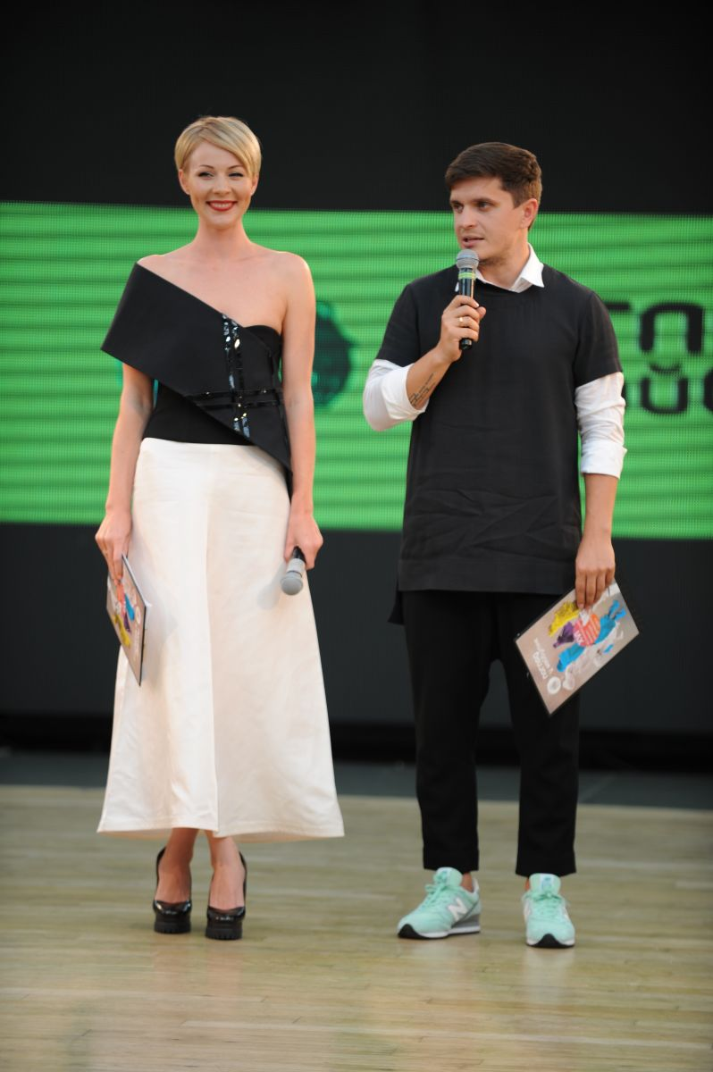 Марина Леончук и Анатолий Анатолич