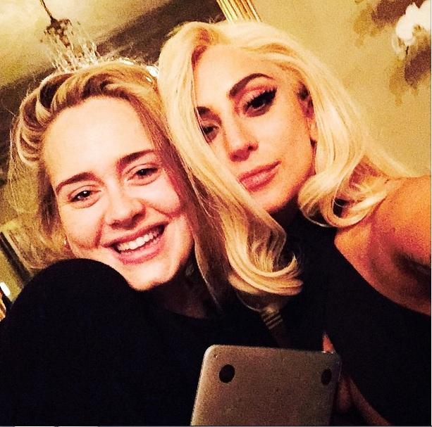 Леди Гага и Адель: новый творческий союз?