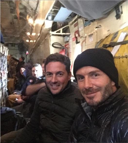 Дэвид Бекхэм путешествует по Антарктике с мужем Лив Тайлер