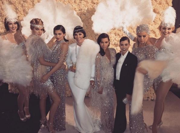 Звездное семейство Кардашьян-Дженнер устроило вечеринку за два миллиона долларов
