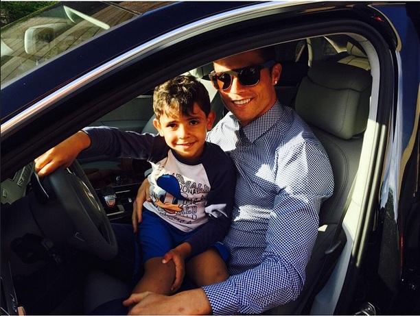 Криштиану Роналду растрогали слова четырехлетнего сына