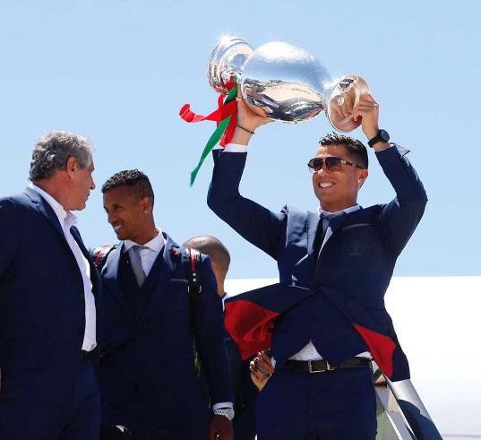 Криштиану Роналду отдал весь гонорар за ЕВРО-2016 на благотворительность