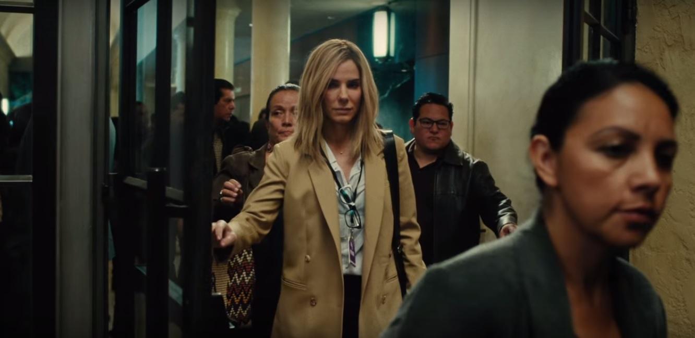 Неожиданно: Сандра Баллок стала блондинкой