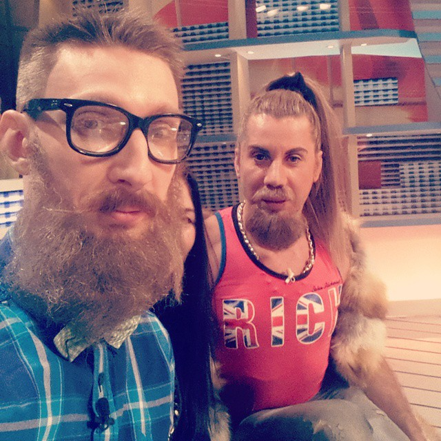 Слава Соломка отрастил бороду
