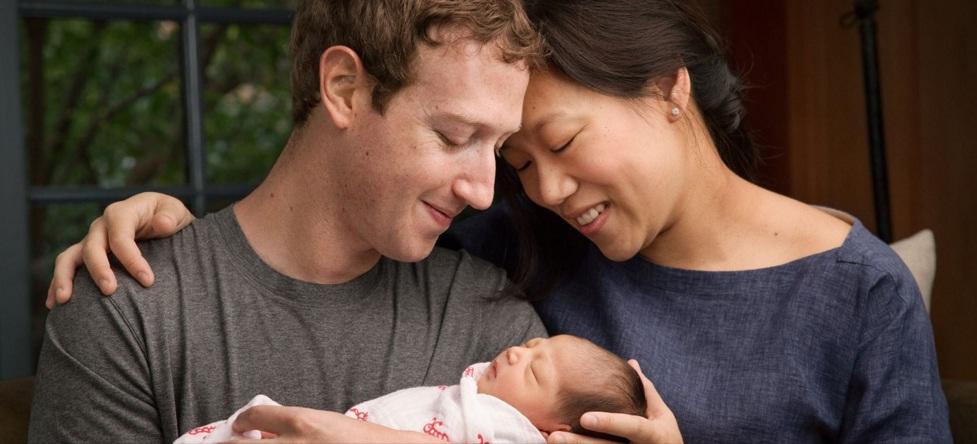 У Марка Цукерберга родилась дочь