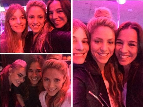Вечеринка для своих: Шакира показала, как играет с подругами в боулинг
