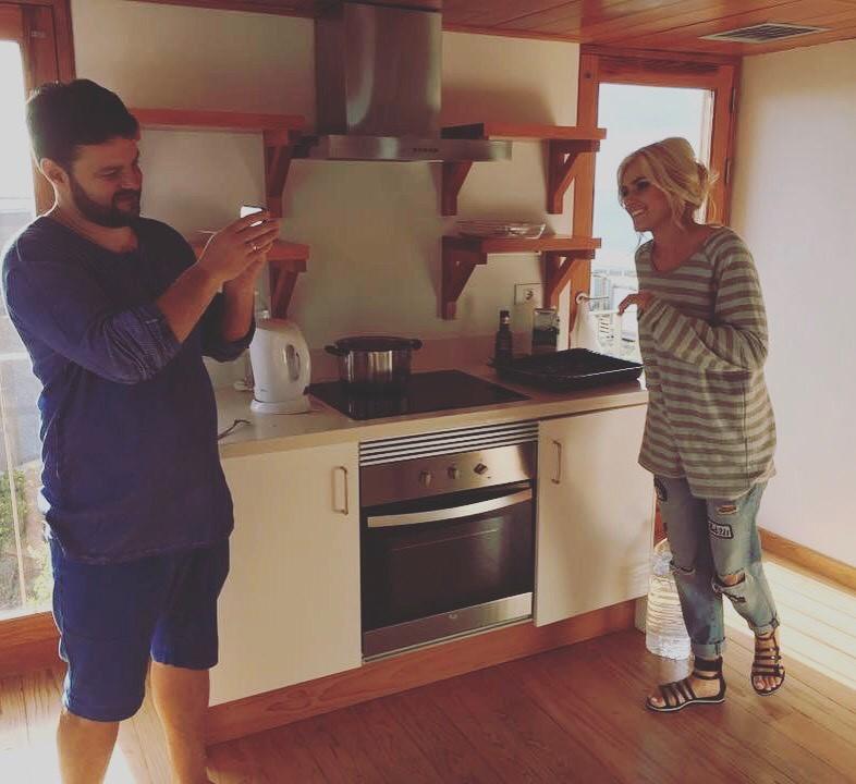 Ирина Федишин с мужем