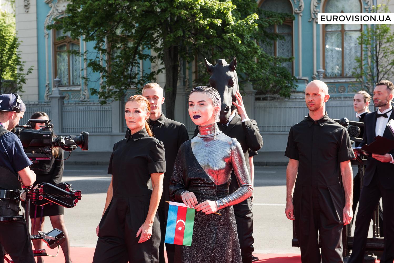 Самые стильные участницы Евровидения-2017 на открытии красной дорожки
