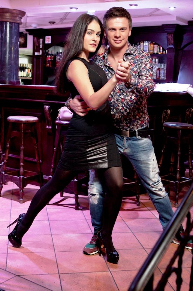 Молодая мама Маша Собко станцевала страстное танго