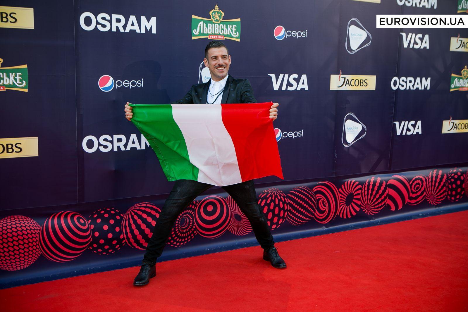 Франческо Габбани, представитель Италии