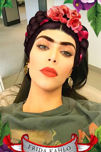 Фотофакт: Ким Кардашьян перевоплотилась во Фриду Кало