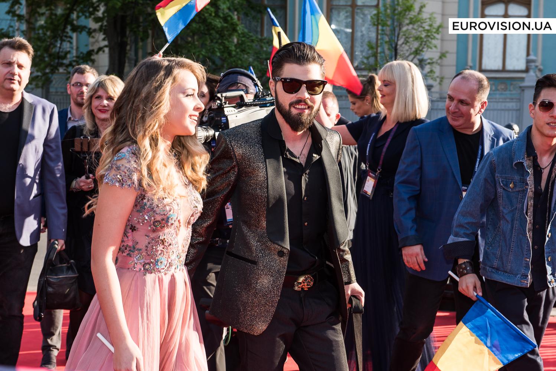 Илинка и Алекс Флоря, предстаивтели Румынии