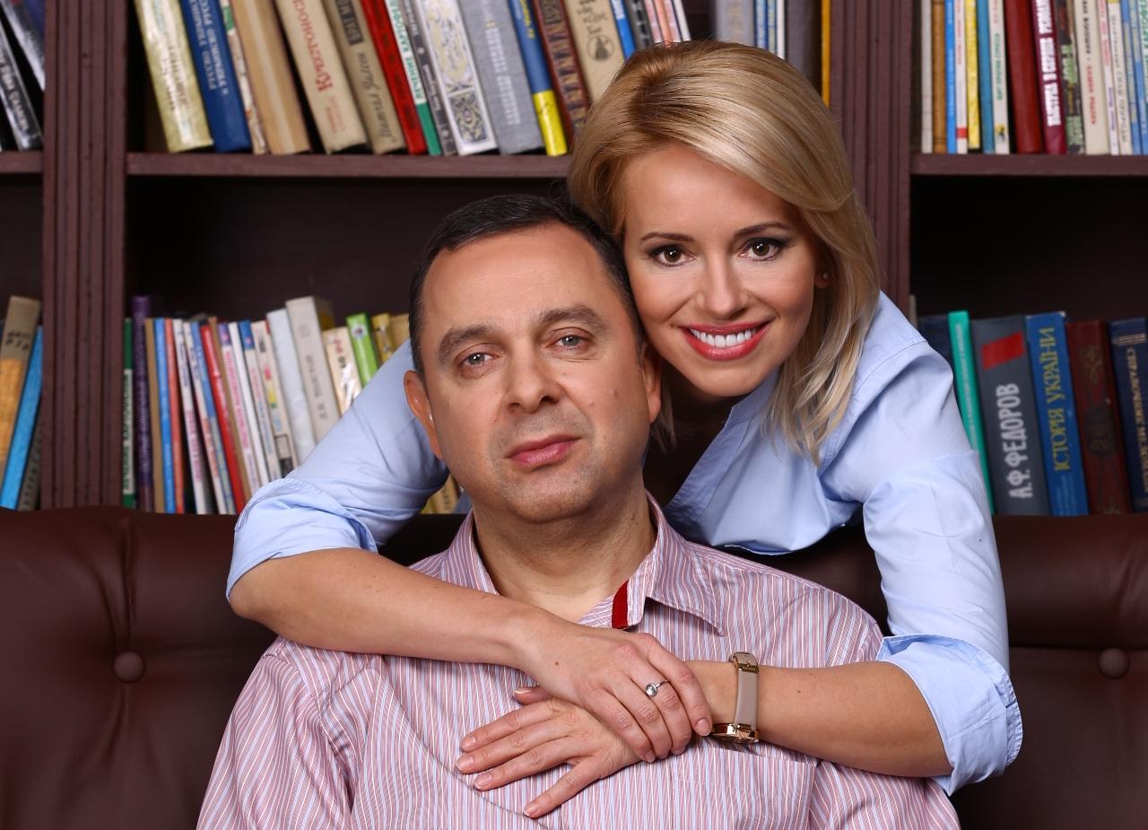 Оксана Гутцайт и ее муж Вадим