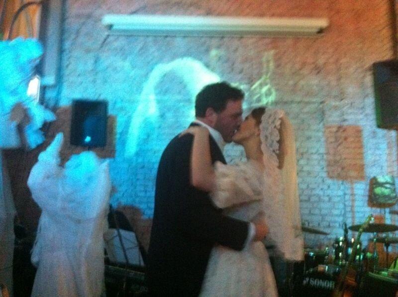 Ксения Собчак и Максим Виторган свадьба фото