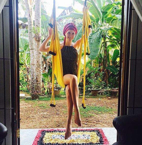 Немного экзотики: Анита Луценко встретила Новый год на Шри-Ланке