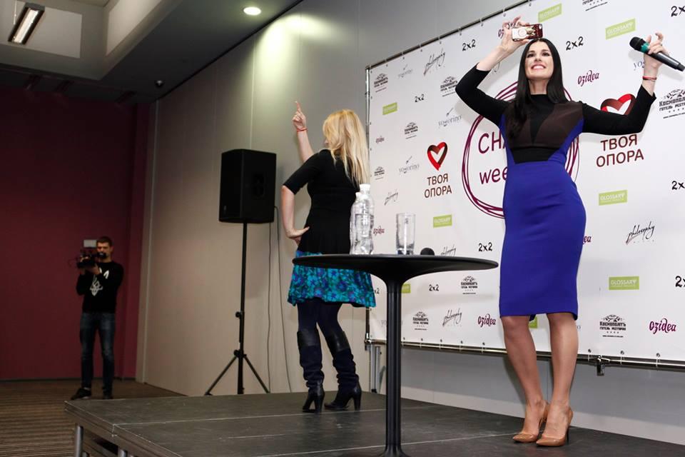 Маша Ефросинина за день собрала 110 тысяч гривен для детей-беженцев из зоны АТО