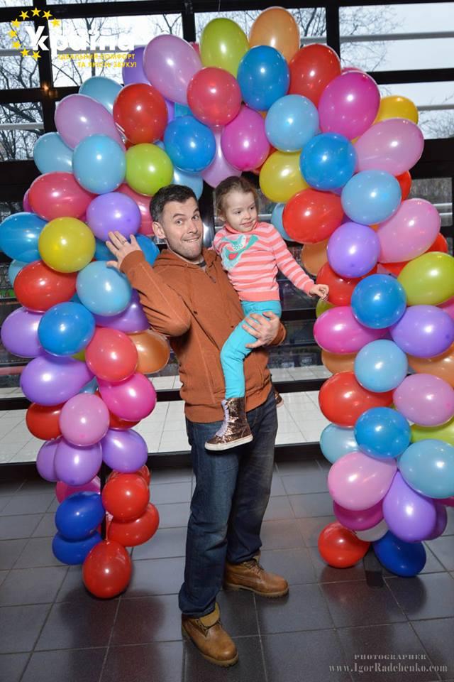 Геннадий Попенко с дочерью Варварой