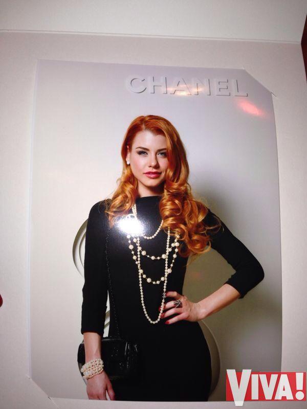 Юлия Лаута показ шанель chanel фото 2014