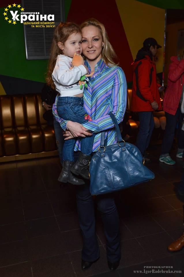 Дарья Трегубова с дочерью Полиной
