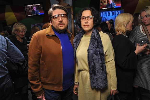 Виктория Гресь с мужем Аркадием Масловым
