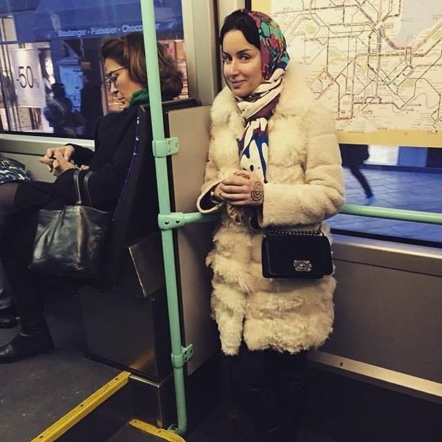 Тина Канделаки ищет работу и ездит в общественном транспорте