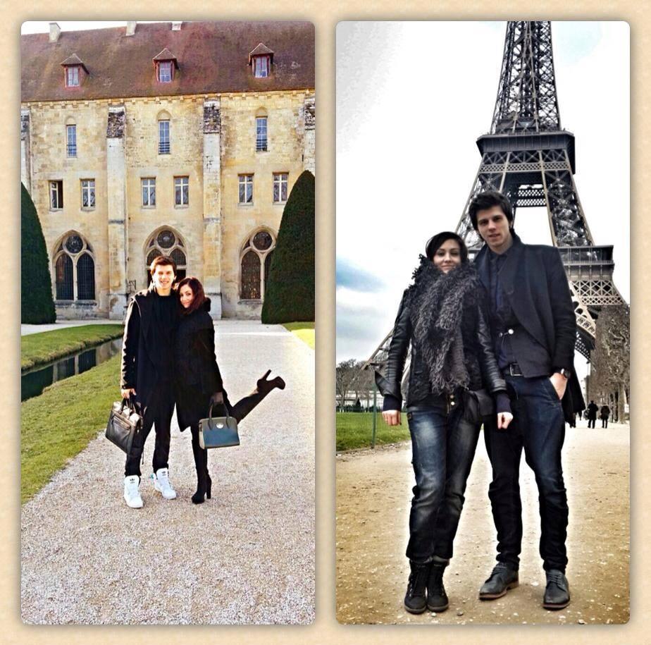 Александр Лещенко и его жена отдохнули в Париже