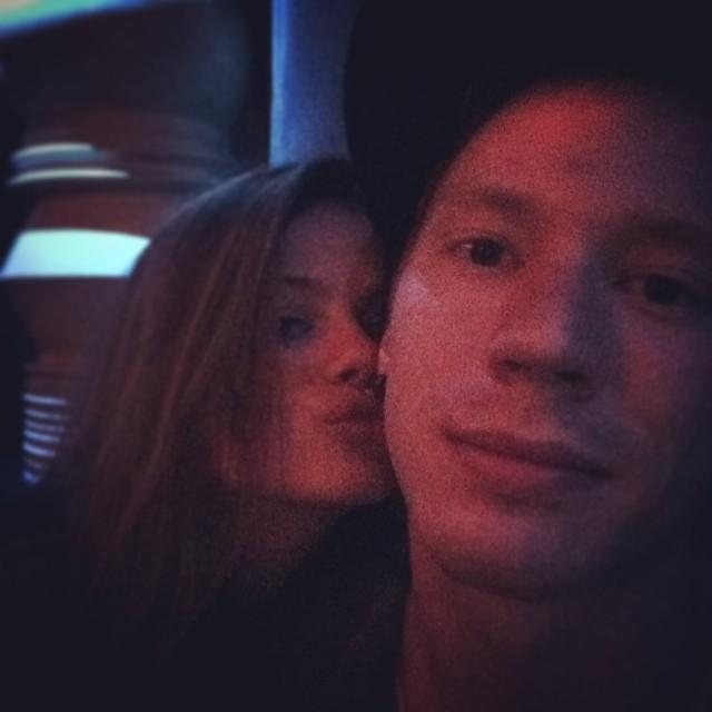 Никита Пресняков и его девушка