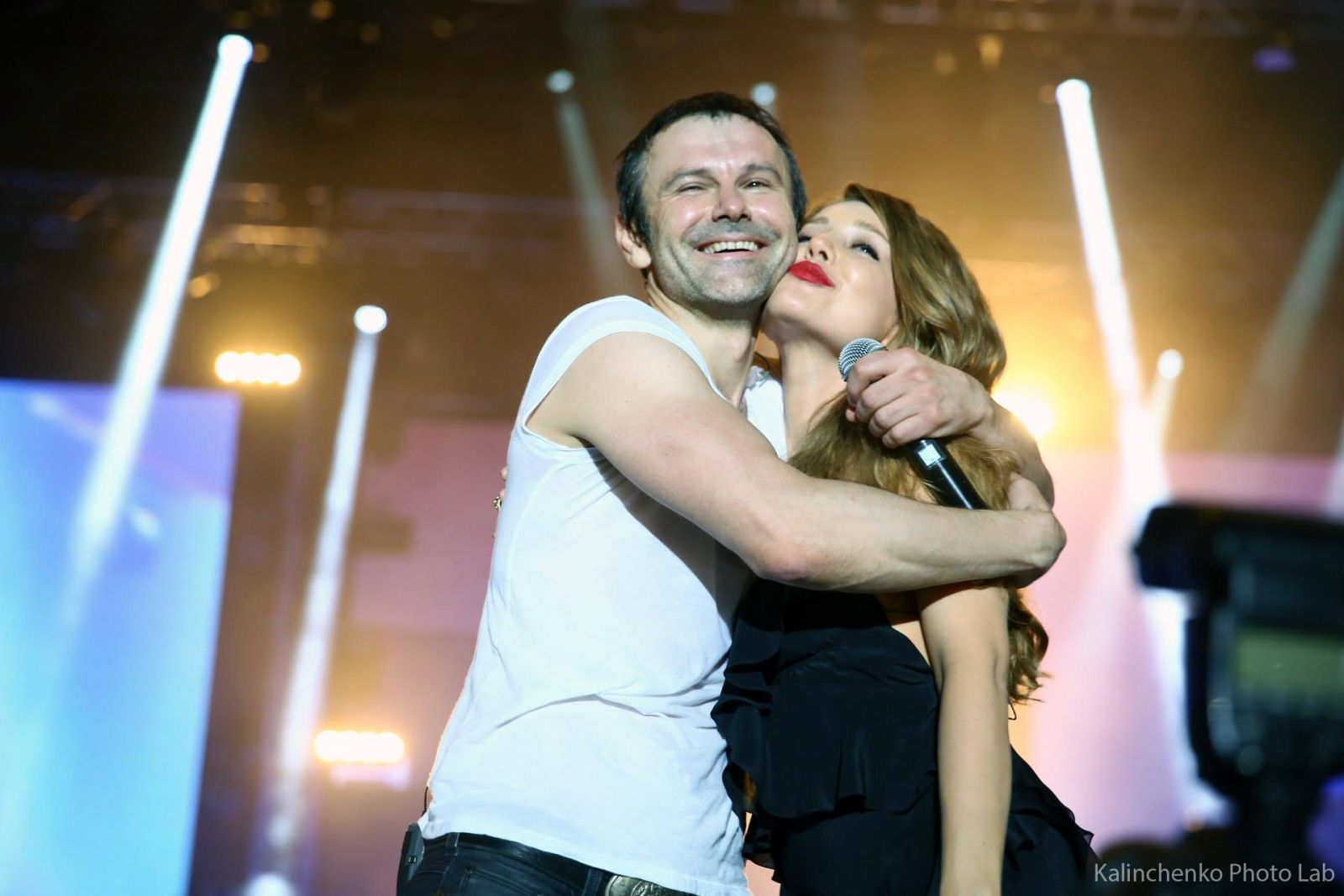 Тина Кароль и Святослав Вакарчук