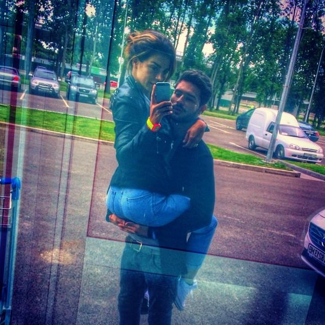 Анна Седокова с бойфрендом