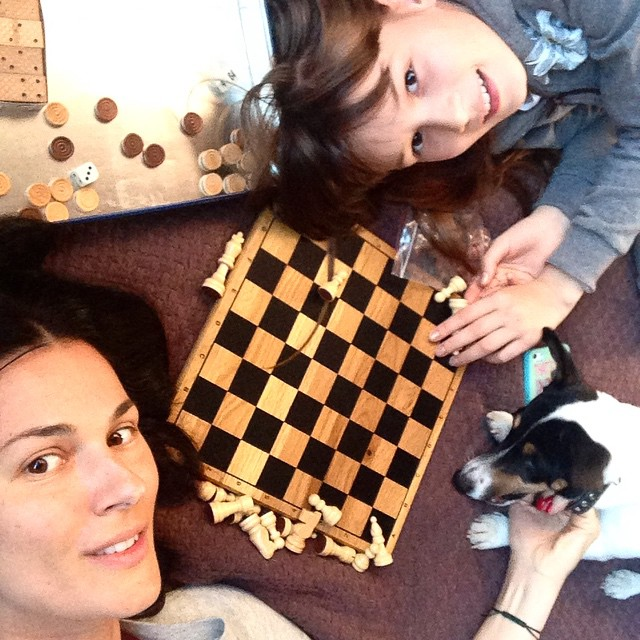 Маша Ефросинина и ее дочь Нана
