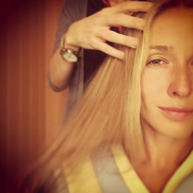Катя Осадчая без макияжа