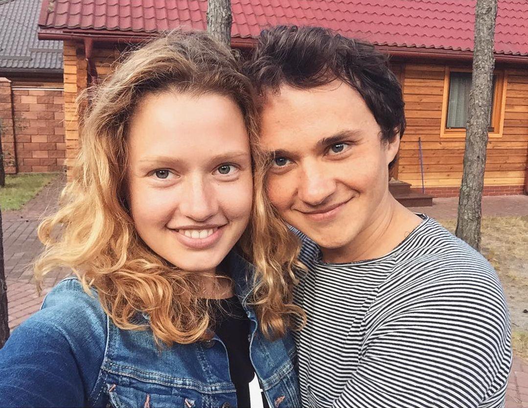 Константин Войтенко и Валентина Маринина на отдыхе