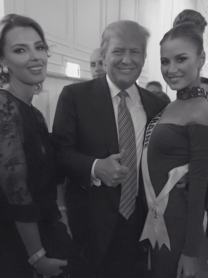 Александра Раффин, Дональд Трамп, Диана Гаркуша
