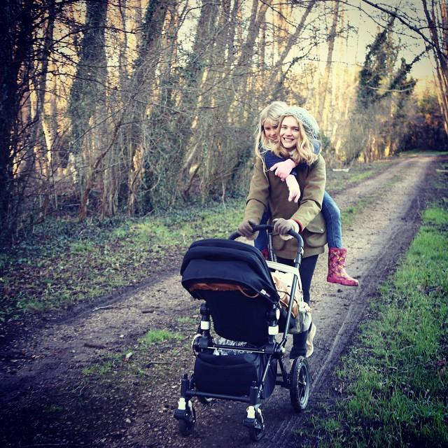 Наталья Водянова активно готовится к марафону в Париже