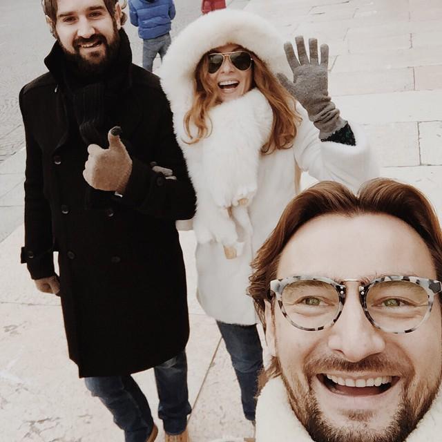 Алан Бадоев Новый год встретил с экс-женой Жанной и ее возлюбленным