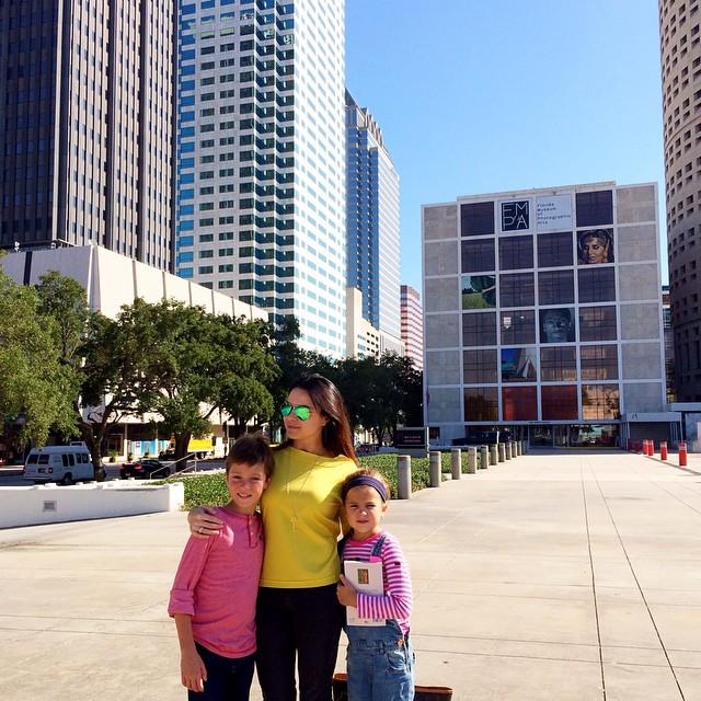 Лилия Подкопаева проводит лето в США с детьми