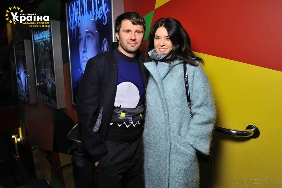 Виталий Рева с женой Еленой