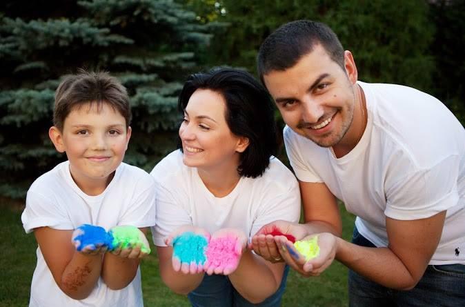 Эксперт Все буде добре Анна Кушнерук с мужем и сыном