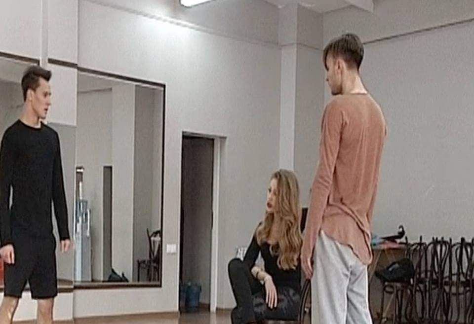 Тина Кароль  на репетиции концерта