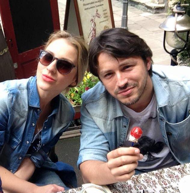 Сергей Притула и его жена Екатерина