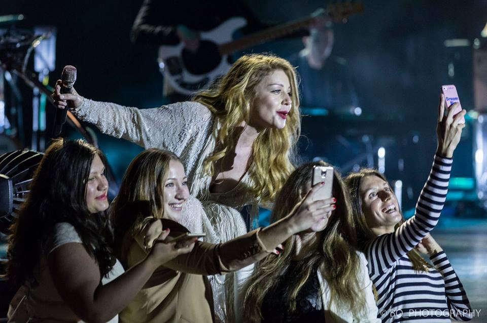 Тина Кароль на концерте в США