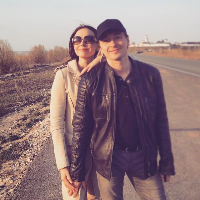 Сергей Безруков и его жена Ирина