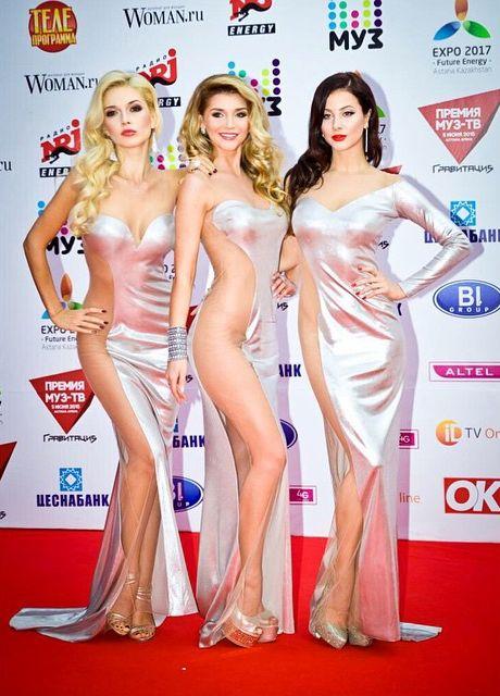 Группа ВИА Гра не премии Муз-ТВ 2015