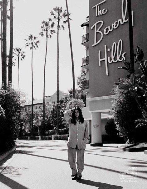 Модный шок: Ким Кардашьян снялась для Vogue без макияжа и в пижаме