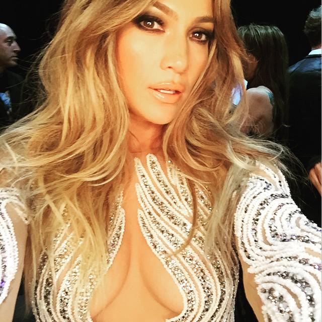 Дженнифер Лопес на церемонии Billboard Music Awards-2015