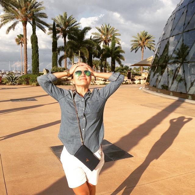 Лилия Подкопаева проводит лето в США